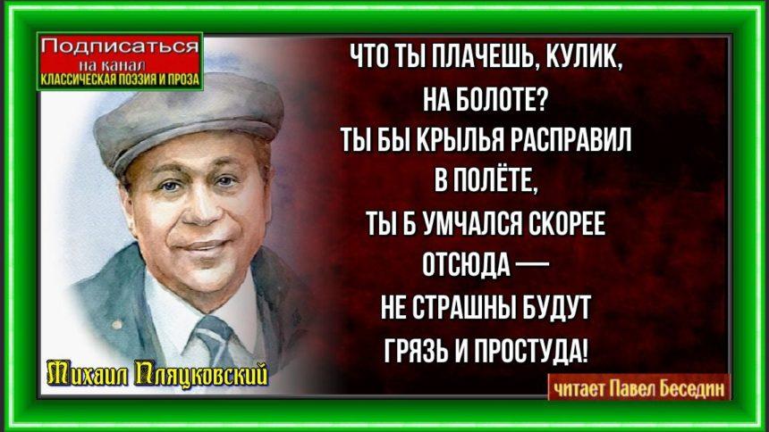 Кулик Михаил Пляцковский читает Павел Беседин