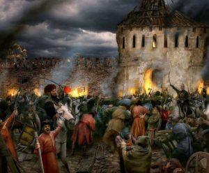 Новое несчастье Москвы и разбои новгородцев 1380-1388 годы