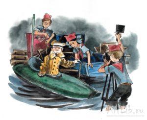 Архимед» Вовки Грушина —Юрий Сотник —Рассказы детям —читает Павел Беседин