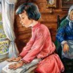 Бабушка и внучек. — Алексей Плещеев читает павел беседин