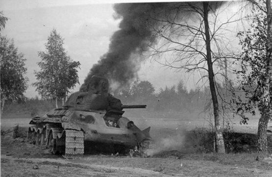 Действия «тигров» 1-го танкового полка— Вилли Фей
