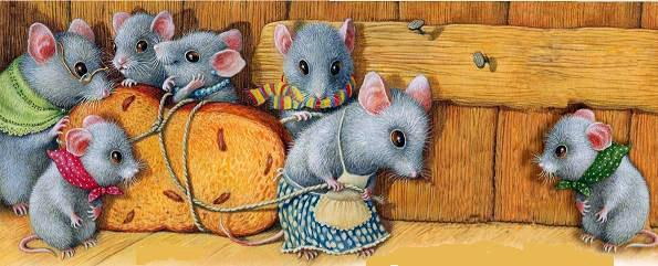 Мышки— Константин Ушинский