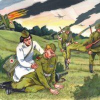 Девушка в военном—Владимир Железников — читает Павел Беседин