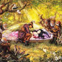 Белоснежка и семь гномов— Братья Гримм