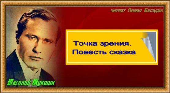 Tochka zreniya. Povest skazka Vasilij SHukshin chast I- chitaet Pavel Besedin