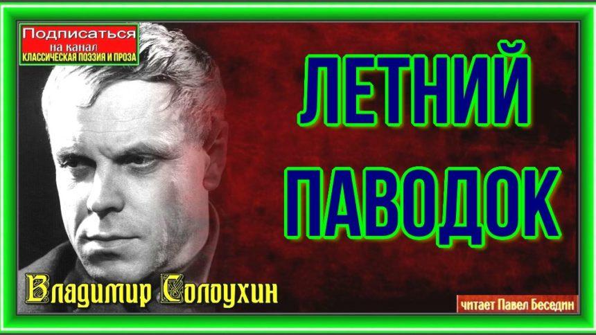 Летний паводок— Владимир Солоухин —читает Павел Беседин