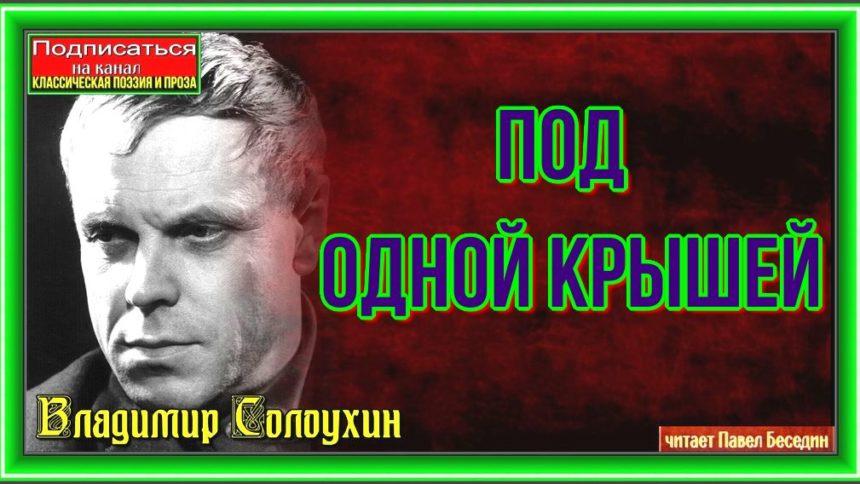Под одной крышей— Владимир Солоухин