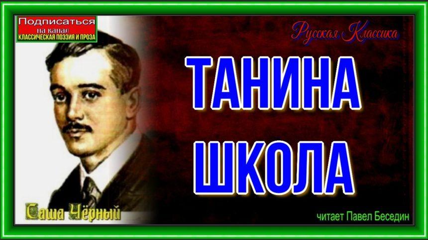 Танина школа Саша Чёрный читает Павел Беседин