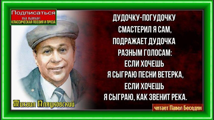 Дудочка Михаил Пляцковский читает Павел Беседин