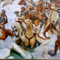 Битва на Чудском озере 1242 год—Сто Великих Сражений —читает Павел Беседин