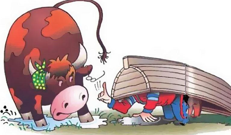 Целебный бык—Сказка—Эдуард Успенский